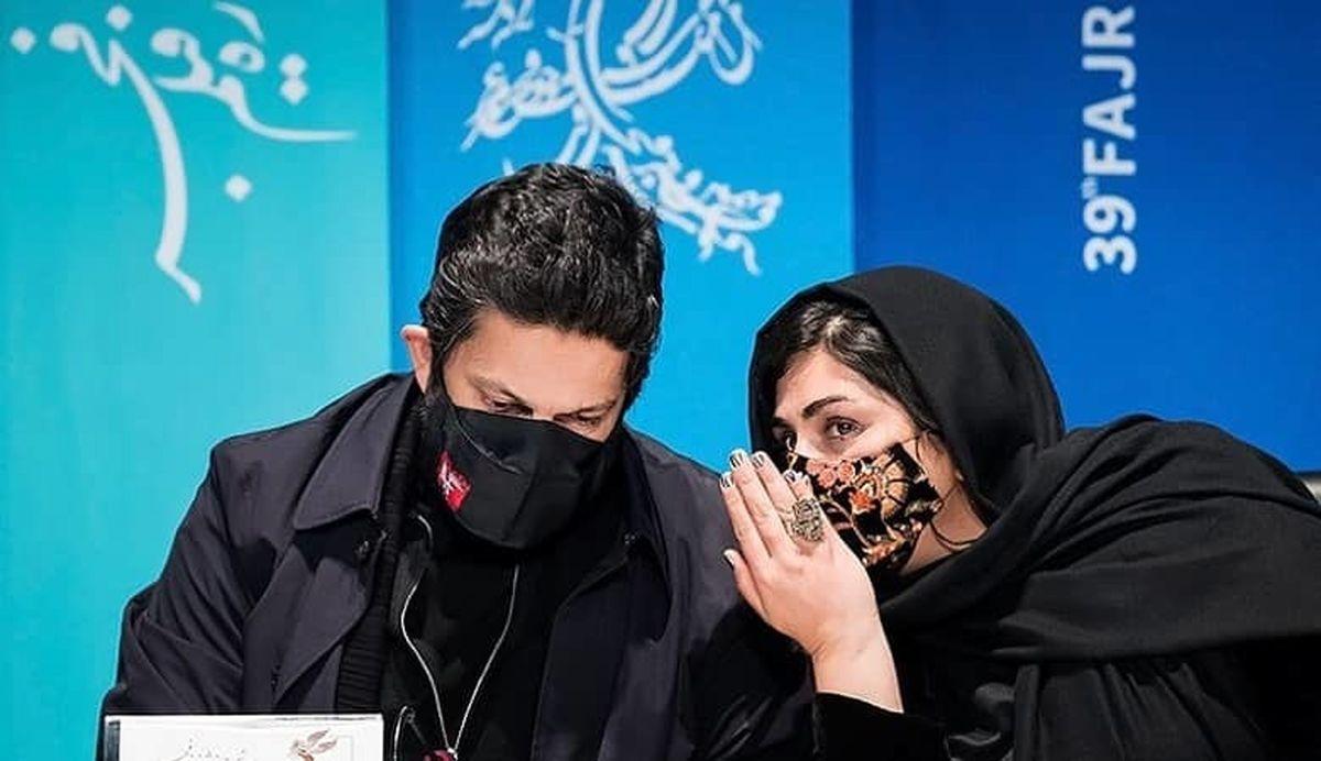 جنجال جدید حامد بهداد و باران کوثری  عکس های دونفره