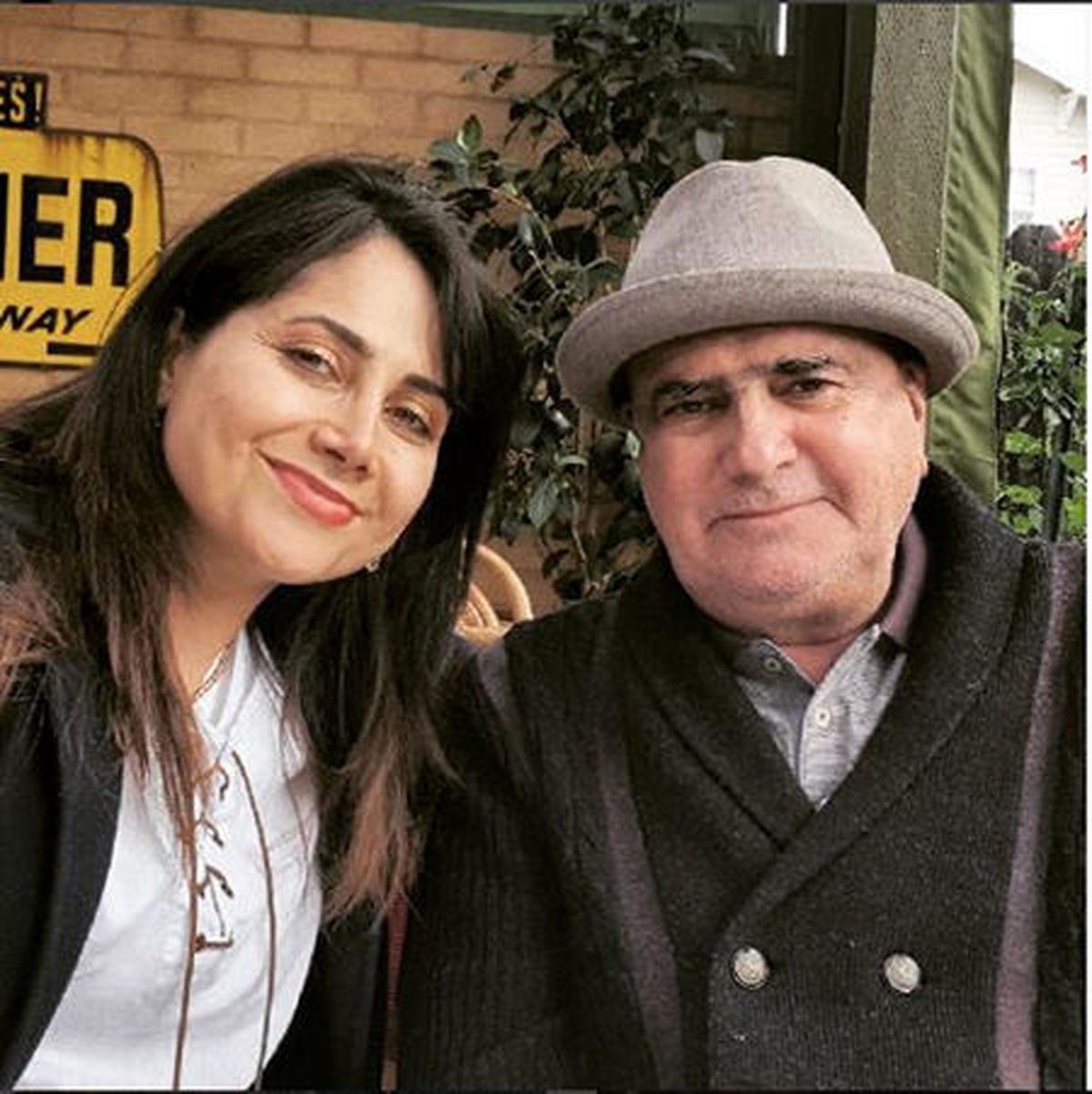 واکنش مژگان شجریان دختر محمدرضا شجریان به درگذشت پدر + عکس