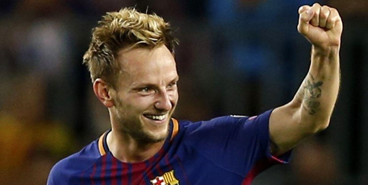 بارسلونا جلوی خروج راکیتیچ را گرفت