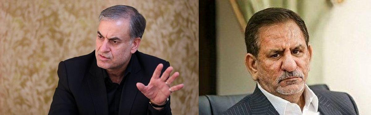 اعتراض شدید احمدی بیغش،نماینده مجلس به آقای جهانگیری معاون اول رییس جمهور