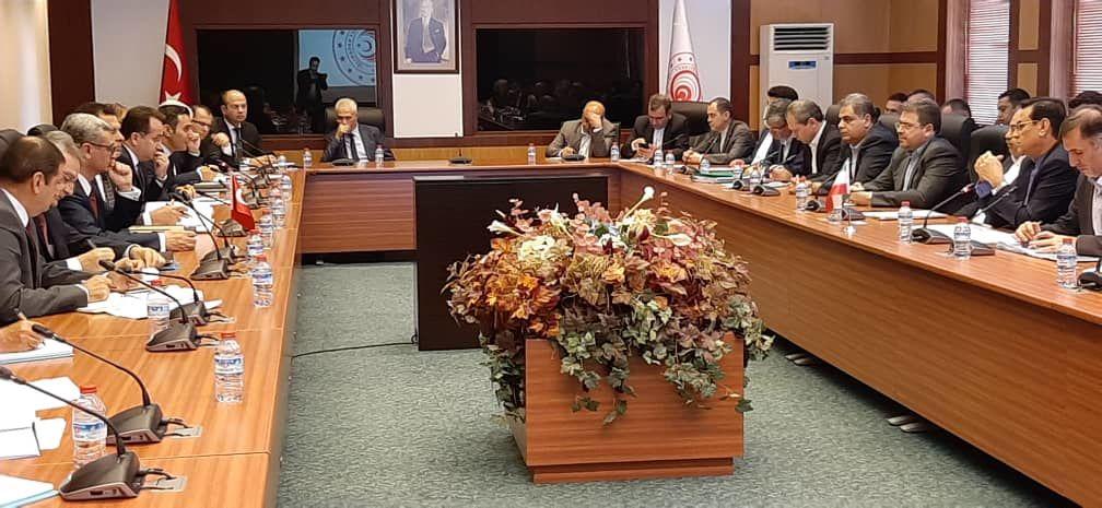 بیست و هفتمین کمیسیون مشترک اقتصادی ایران و ترکیه آغاز به کار کرد