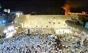مسجد الاقصی به آتش کشیده شد + فیلم