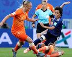 لایی زنهای حرفهای در فوتبال زنان + فیلم