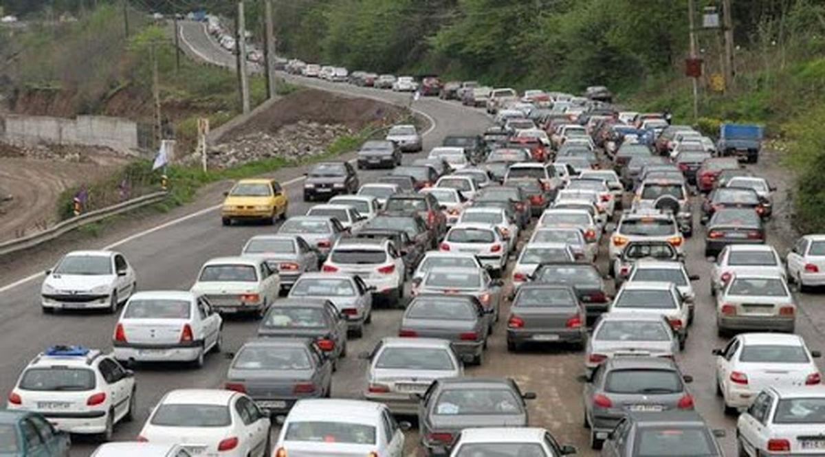 ترافیک در هراز و کندوان پرحجم است