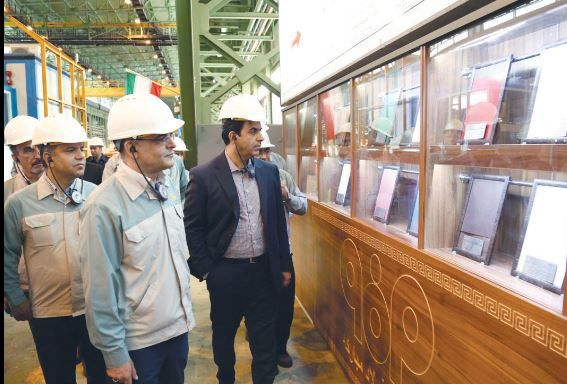 شرکت فولاد مبارکه رکورددار بهره وری در ایران