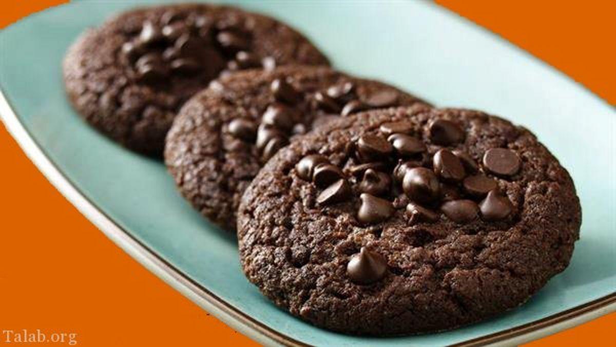 طرز تهیه کلوچه شکلاتی به سبک شمال کشور+آموزش