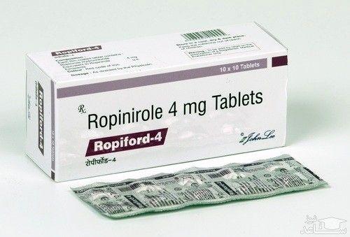 مصرف روپینیرول  و عوارض تاثیر گذار آن
