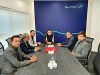 دیدار مدیرعامل بیمه و بانک سینا با سفیر ایران در ارمنستان