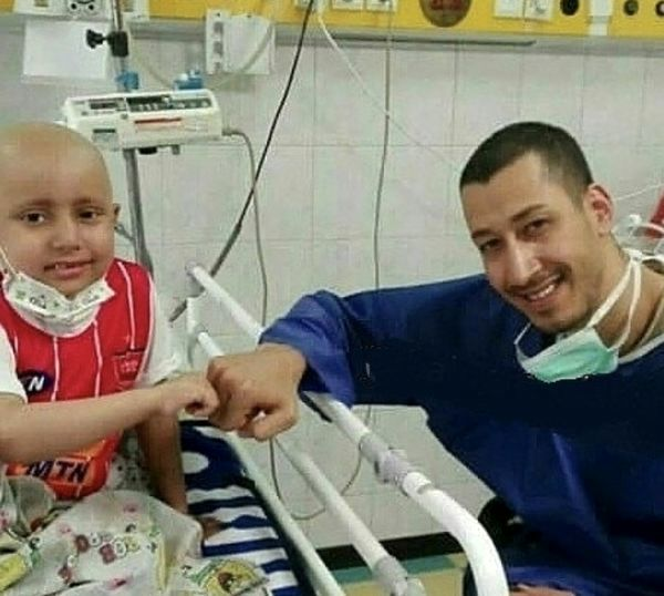 بهرام افشاری در بیمارستان + عکس