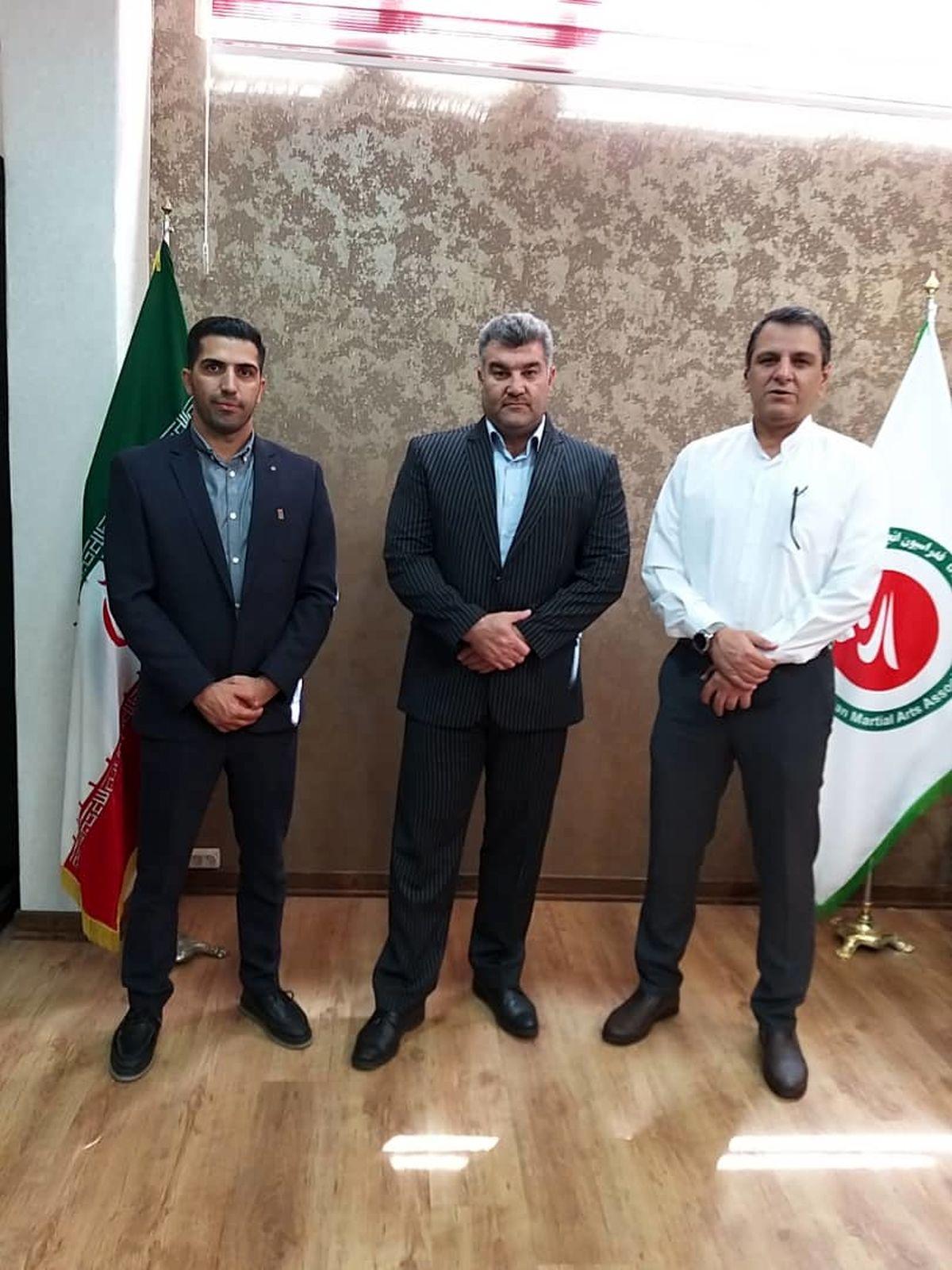 افزایش همکاری منطقه آزاد قشم با فدراسیون انجمن ورزش های رزمی کشور