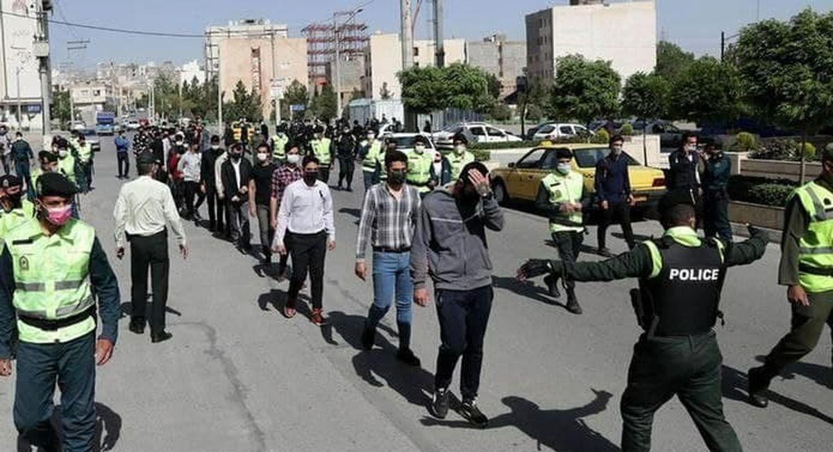 اغتشاشگران حرفه ای بعد از مدت ها در مشهد دستگیر شدند!