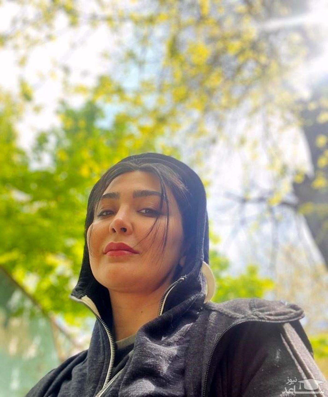 مریم معصومی در کنار مهربان ترین بانوی سینمایی ایران