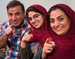 گریه های همسر و دختر مرحوم علی سلیمانی در برنامه زنده | فیلم جانسوز