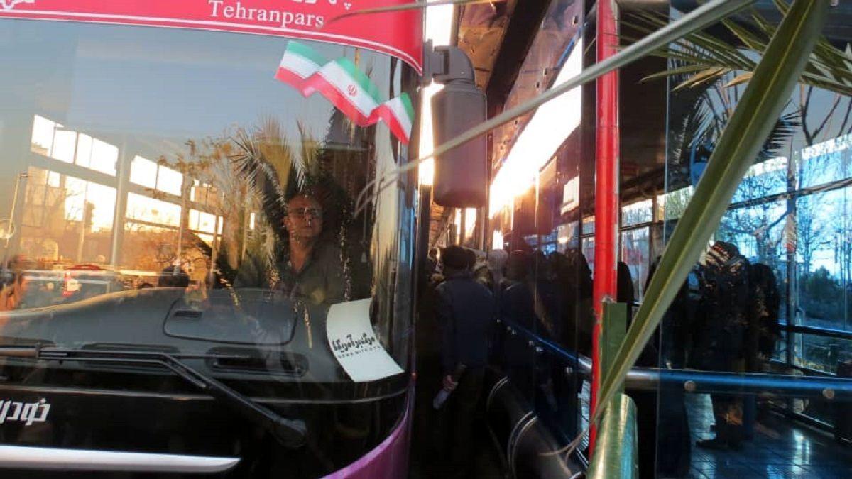 از صحبت کردن در اتوبوس خودداری کنید