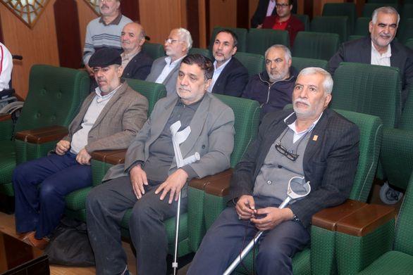 بازدید جمعی از جانبازان گرانقدر از ذوب آهن اصفهان
