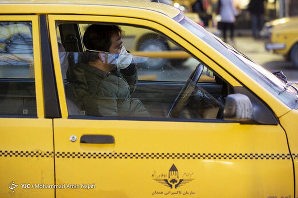 کرونا، مسافران تاکسی و مترو را کم کرد