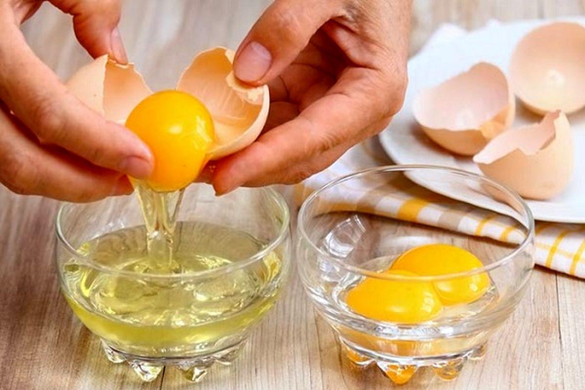 خواص فوق العاده زرده تخم مرغ برای مو+طرز تهیه ماسک