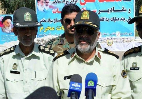 جزییات انهدام باند مسلحانه مواد مخدر در ایرانشهر