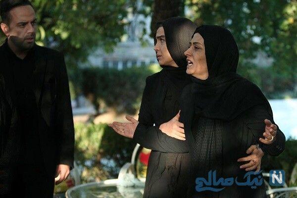تصاویر سانسور شده در سریال پرگار با بازی الهام طهموری