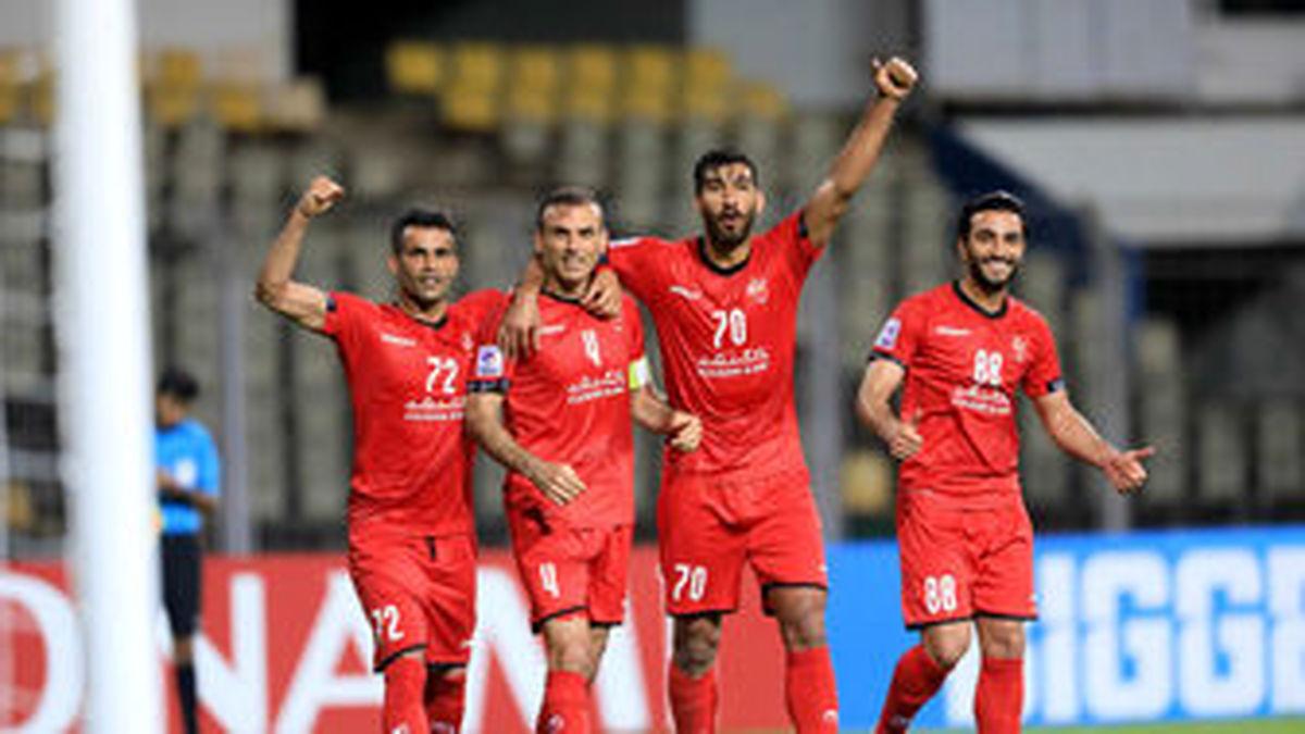 ساعت بازی پرسپولیس و الوحده امارات