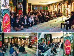 آیین سوگواری سیدالشهدا(ع) در برج سپهر بانک صادرات ایران برگزار شد