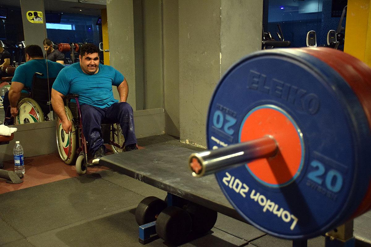 مردانی از جنس اراده و امید در اردوی وزنه برداری کیش