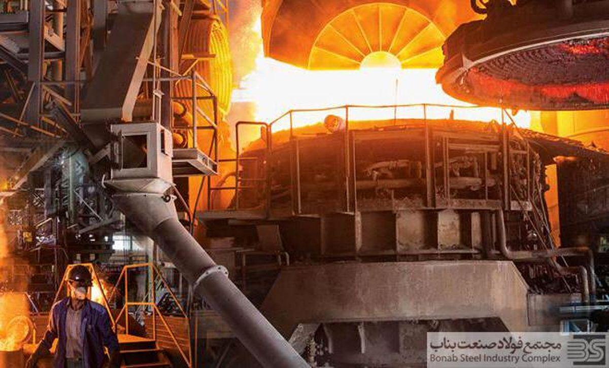 گامی بلند از رونق تولید تا جهش تولید در مجتمع فولاد صنعت بناب