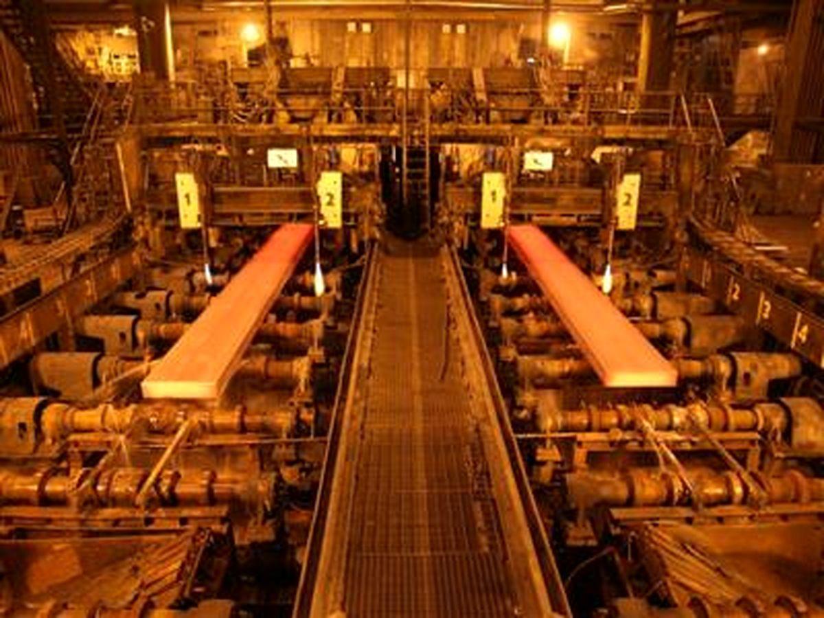 رکوردی دیگر از فولاد مبارکه با تولید ۷۰۰هزارتن تختال