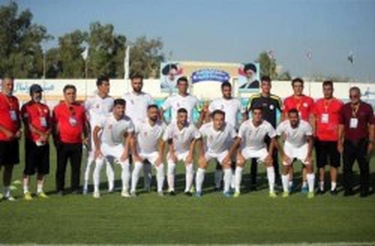 پیروزی تیم ملی فوتبال ناشنوایان ایران برابر عراق