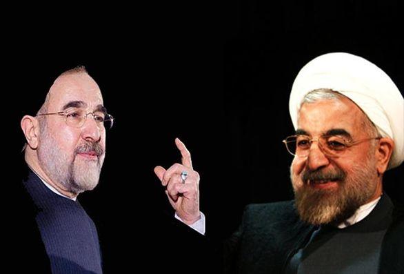 انتقاد تند خاتمی از روحانی علت تاکتیکی دارد