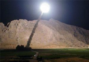 اولین فیلم از حمله موشکی ایران به پایگاه های امریکا در عراق