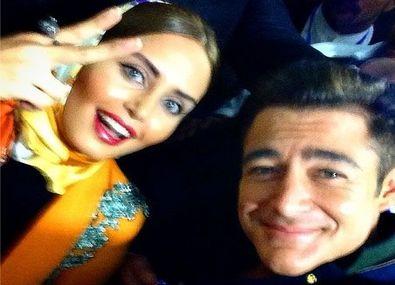 عکس جنجالی و لورفته الناز شاکر دوست در کنار  سوپراستار ایرانی در مهمانی شبانه + بیوگرافی و تصاویر جدید