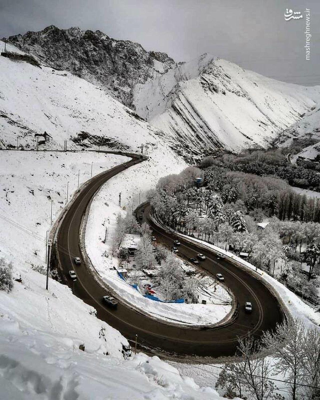 بارش برف و باران در 469 جاده کشور