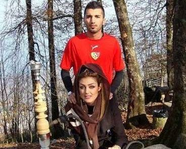 محسن مسلمان ، بازیکن جنجالی پرسپولیس ازدواج کرد + فیلم و تصاویر