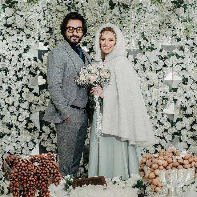 نگین معتضدی ازدواج کرد+ عکس