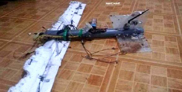 یک فروند پهپاد تروریستها در سوریه ساقط شد + عکس