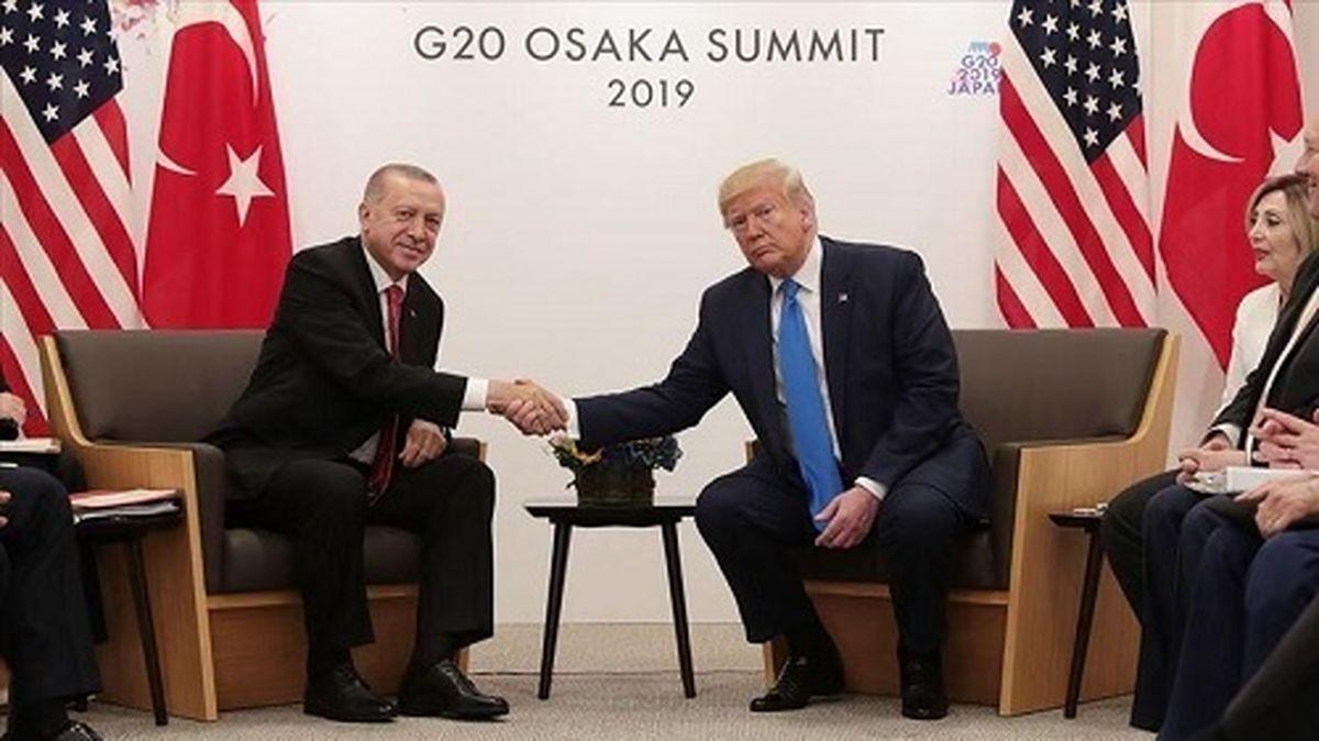 نامه جالب ترامپ به اردوغان + عکس