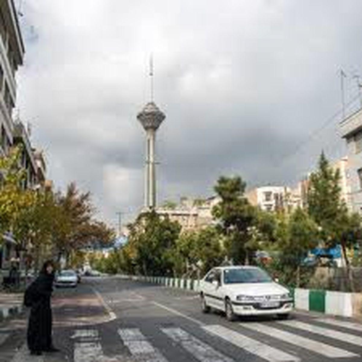 افزایش دما تا پایان هفته/ دمای ۲۱ درجه در تهران