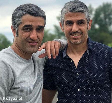 پژمان جمشیدی و برادرش