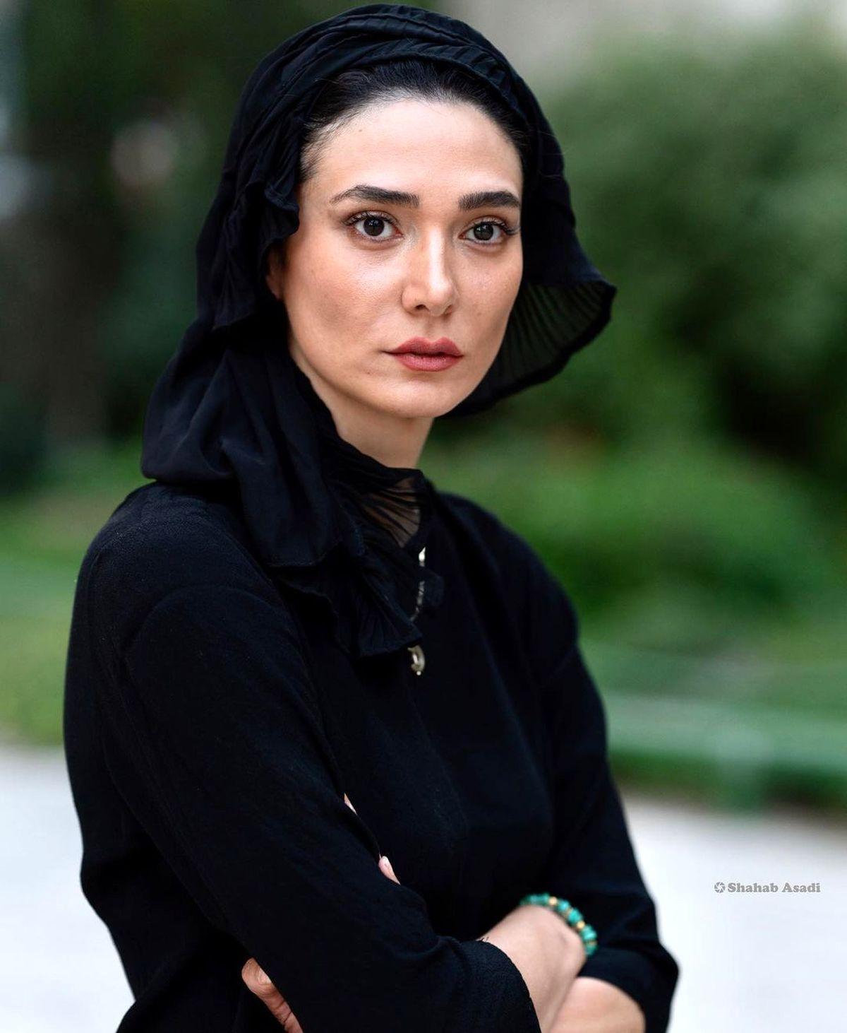 رابطه پنهانی بازیگر سریال افرا با رضا کیانیان   عکسهای مینا وحید بازیگر سریال افرا
