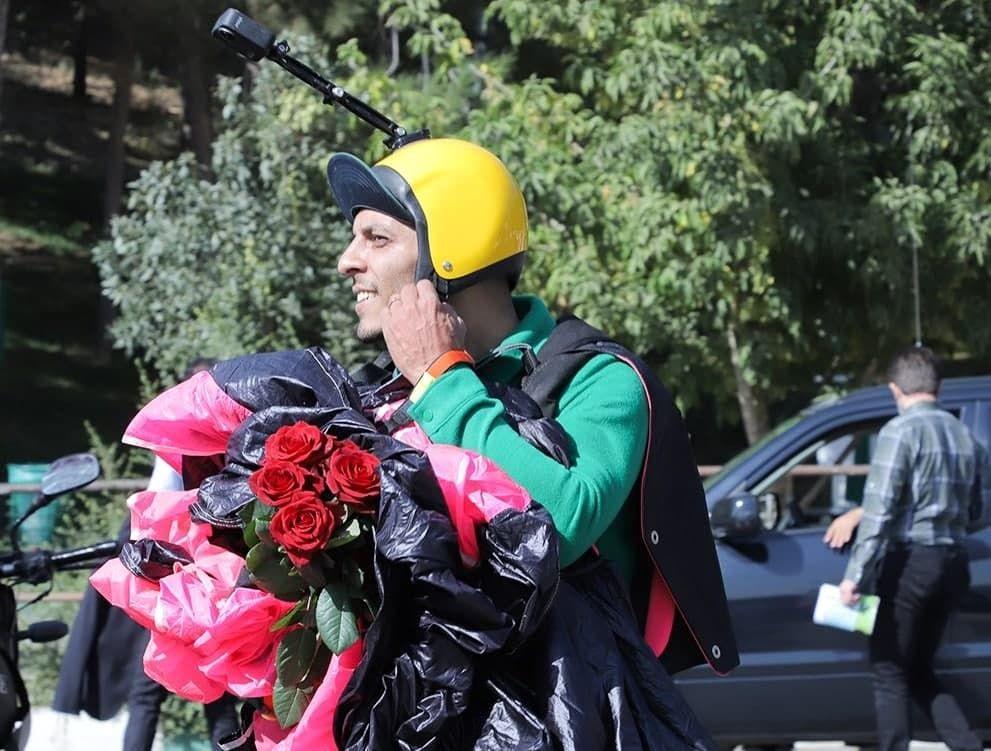 اولین فیلم از مرگ دلخراش چترباز معروف در سالگرد پلاسکو + فیلم