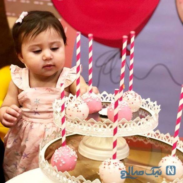 جشن تولد لاکچری دختر شاهرخ استخری + فیلم