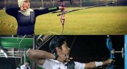ورزشکاران جزیره کیش در اردوی تیم ملی تیراندازی با کمان