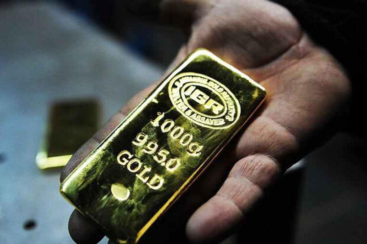 قیمت هر اونس طلا به دلار