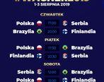 برزیل، صربستان و فنلاند به جام واگنر میروند