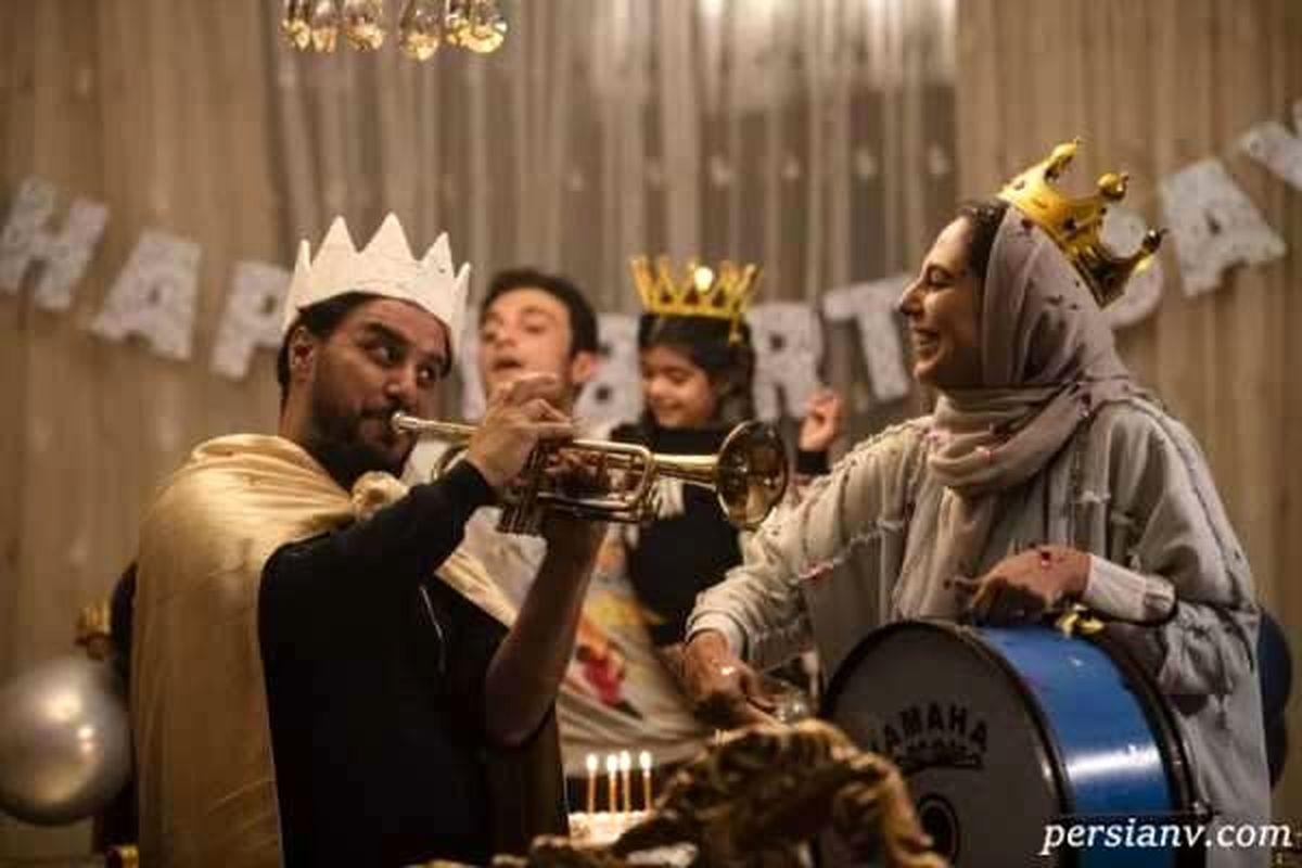 بازیگران سریال زخم کاری در کنار همسرانشان + تصاویر