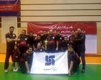 نائب قهرمانی تیم فوتسال بیمه سرمد در جام چارگون