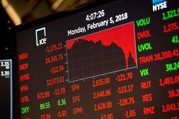 سقوط سهام آمریکا در پی شیوع ویروس کرونا