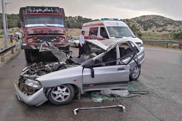 فارس همچنان رکورددار تصادفات جاده ای کشور