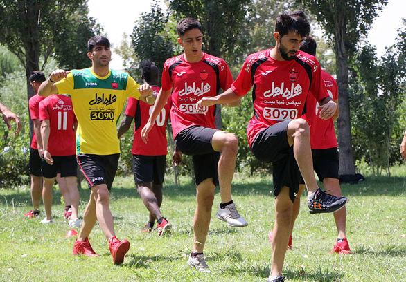 ستاره پرسپولیس برگ برنده عراق مقابل ایران + عکس